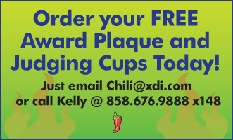 Order Plaque and Judging Cups